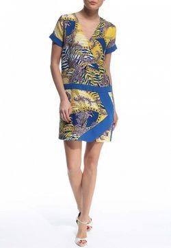 Платье Versace Jeans                                                                                                              многоцветный цвет