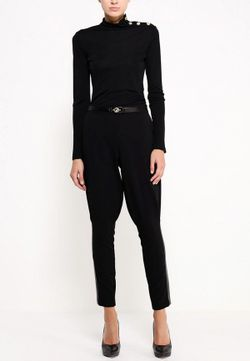Брюки Versace Jeans                                                                                                              чёрный цвет