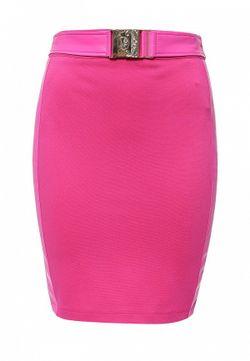 Юбка Versace Jeans                                                                                                              Фуксия цвет