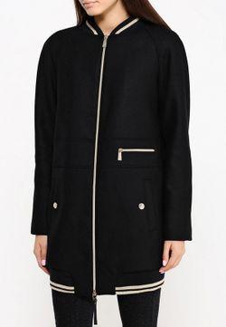 Пальто Versace Jeans                                                                                                              чёрный цвет