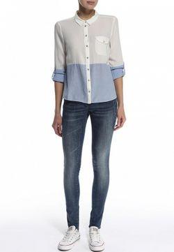 Блуза Vero Moda                                                                                                              многоцветный цвет