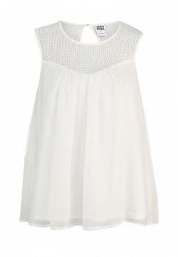 Топ Vero Moda                                                                                                              белый цвет