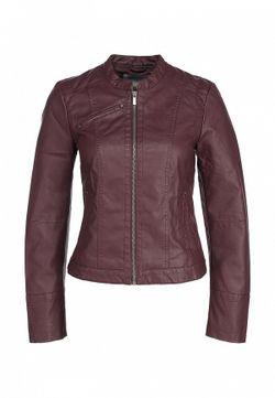 Куртка Кожаная Vero Moda                                                                                                              фиолетовый цвет