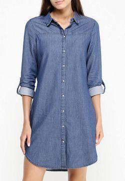Платье Vero Moda                                                                                                              синий цвет