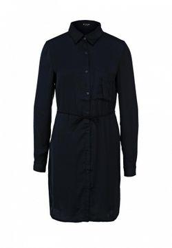 Платье Vila                                                                                                              синий цвет