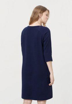 Платье Violeta by Mango                                                                                                              синий цвет