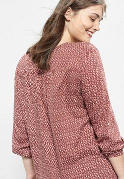 Блуза Violeta by Mango                                                                                                              многоцветный цвет