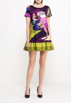 Платье Vika Smolyanitskaya                                                                                                              многоцветный цвет