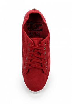 Кеды Victoria Vitoria                                                                                                              красный цвет
