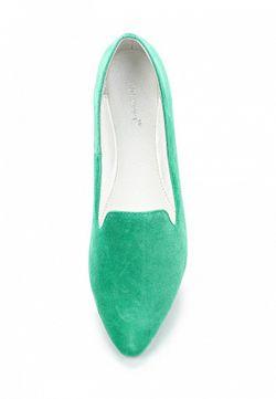Лоферы Vitacci                                                                                                              зелёный цвет