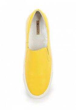 Слипоны Vitacci                                                                                                              желтый цвет