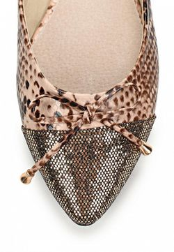 Балетки Vivian Royal                                                                                                              коричневый цвет
