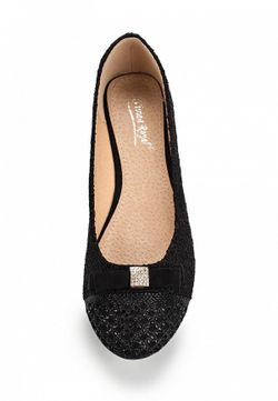 Балетки Vivian Royal                                                                                                              чёрный цвет