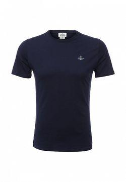 Футболка Vivienne Westwood                                                                                                              синий цвет