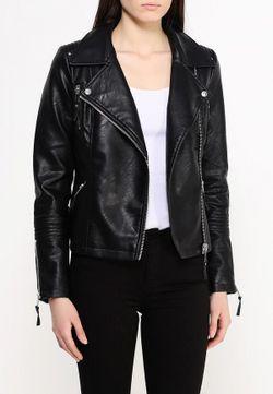 Куртка Кожаная Warehouse                                                                                                              чёрный цвет