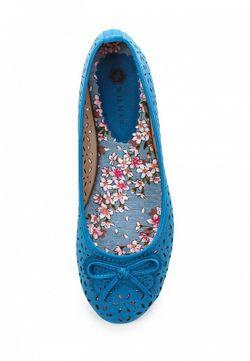Балетки Wilmar                                                                                                              синий цвет