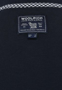 Поло Woolrich                                                                                                              синий цвет