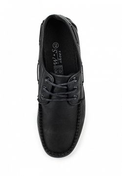 Топсайдеры WS Shoes                                                                                                              чёрный цвет