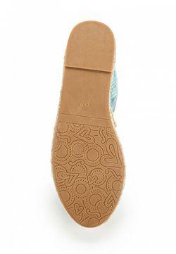 Эспадрильи WS Shoes                                                                                                              голубой цвет