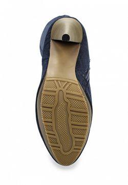 Сапоги WS Shoes                                                                                                              синий цвет