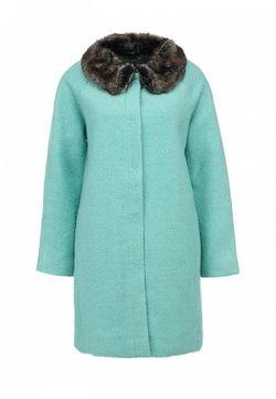 Пальто Yumi                                                                                                              зелёный цвет