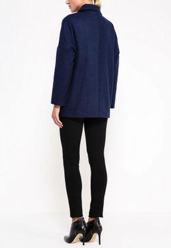 Пальто Zarina                                                                                                              синий цвет