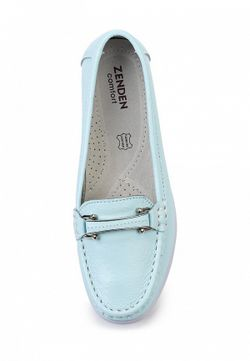 Мокасины Zenden Comfort                                                                                                              голубой цвет