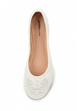 Балетки Zenden Comfort                                                                                                              белый цвет