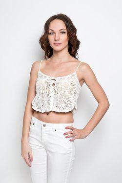 Топ Glamorous                                                                                                              белый цвет