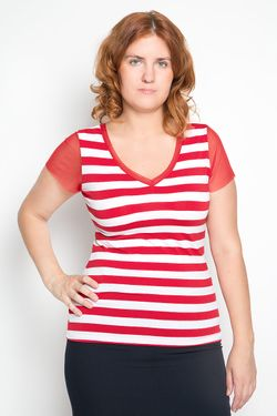 Блузка Milana Style                                                                                                              красный цвет
