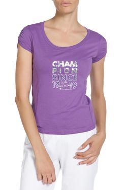 Футболка Champion                                                                                                              фиолетовый цвет