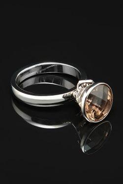 Кольцо Bliss                                                                                                              Серебряный цвет