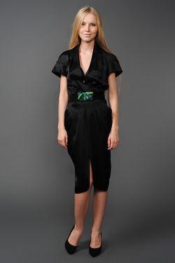 Платье MALANDRINA                                                                                                              чёрный цвет