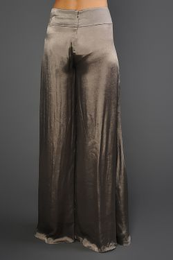 Брюки Donna Karan                                                                                                              серый цвет