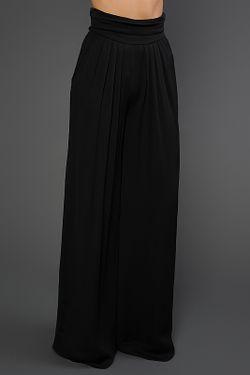 Брюки Donna Karan                                                                                                              черный цвет