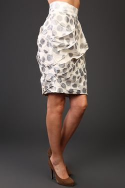 Юбка Monique Lhuillier                                                                                                              серый цвет