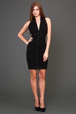 Платье Вечернее Herve' L. Leroux                                                                                                              черный цвет