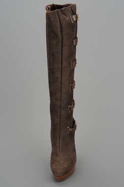 Сапоги Rene' Caovilla                                                                                                              коричневый цвет