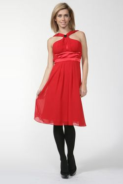 Платье Roccobarocco                                                                                                              красный цвет