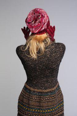 Комплект Шапка И Перчатки Lak Miss                                                                                                              красный цвет