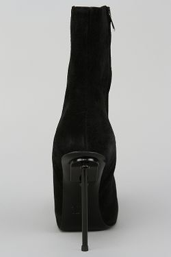 Полусапоги Acne                                                                                                              чёрный цвет