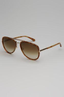 Очки Солнцезащитные Trussardi Dal 1911                                                                                                              коричневый цвет