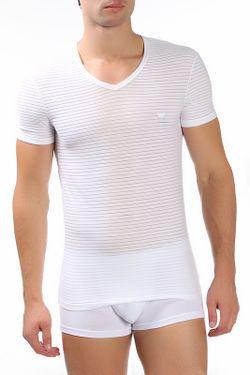 Футболка Emporio Armani                                                                                                              белый цвет