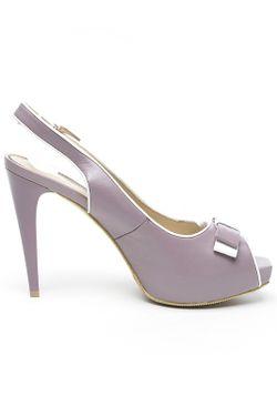 Босоножки P.Cont                                                                                                              фиолетовый цвет