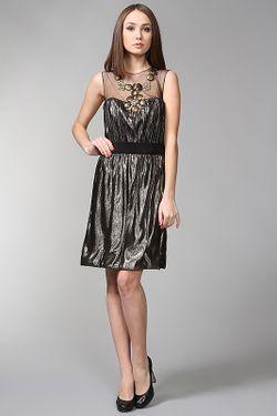 Платье Вечернее Monique Lhuillier                                                                                                              золотой цвет