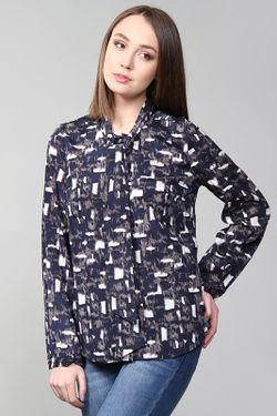 Блуза DKNY                                                                                                              синий цвет