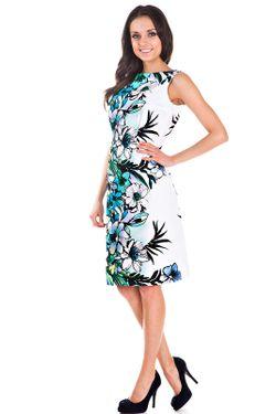 Платье Olivegrey                                                                                                              голубой цвет