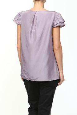 Футболка Galliano                                                                                                              фиолетовый цвет