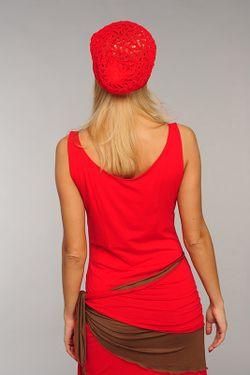 Шапка Lak Miss                                                                                                              красный цвет