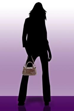 Сумка Gilda Tonelli                                                                                                              коричневый цвет